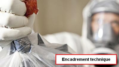 Ss-section 4 : Intervention en présence d'amiante pour l'encadrement technique