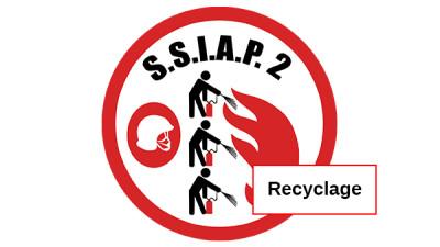 Recyclage Chef d'équipe de service de sécurité incendie-SSIAP 2