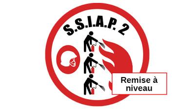 Remise à niveau Chef d'équipe de service de sécurité incendie –SSIAP 2