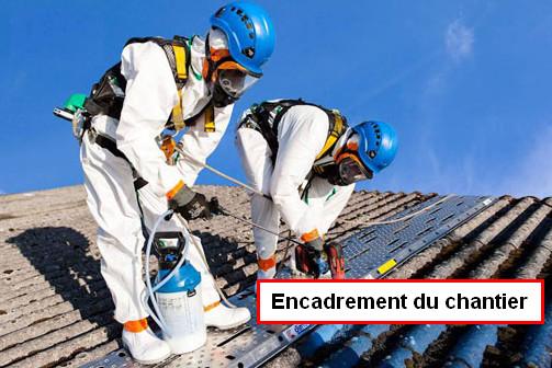 Ss-S 3 : Dépose d'amiante pour l'encadrement de chantier