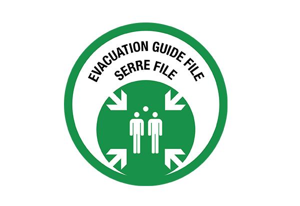 Guide file Serre file (exercice d'évacuation)